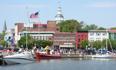 Downtown Annapolis by Mike Robinson