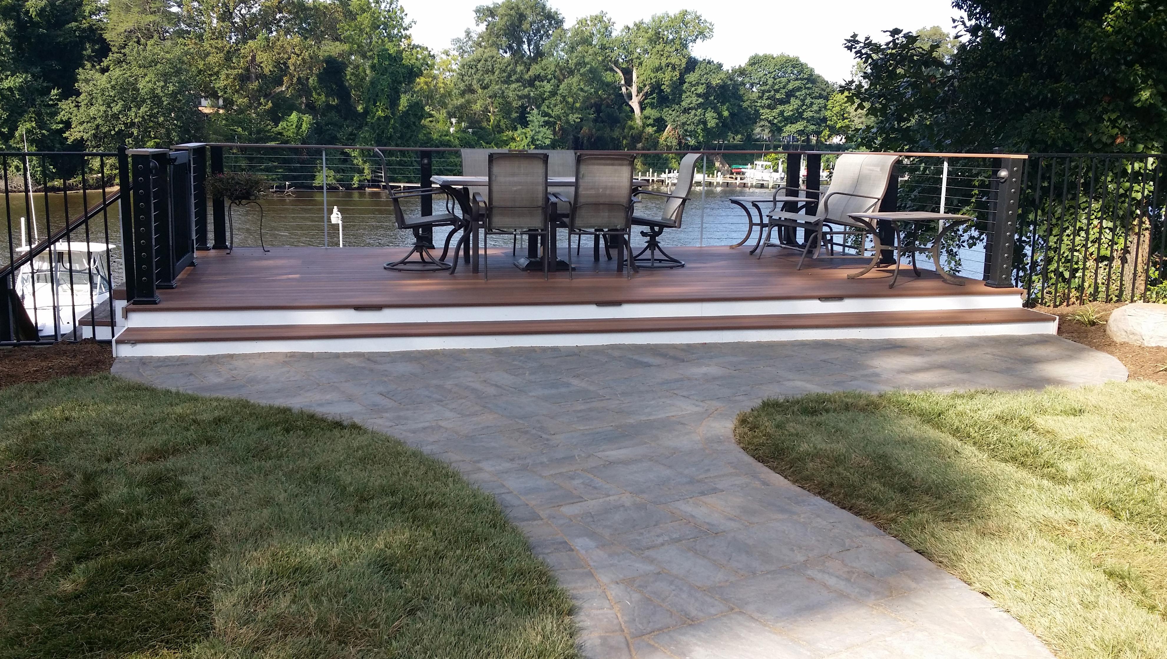 Enjoy the Coastal Lifestyle - Coastal Outdoor Spaces ... on Nautical Backyard Ideas id=92351