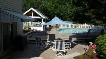 poolside bar patio fence 1