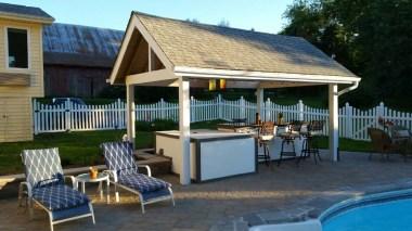 poolside bar patio fence 4