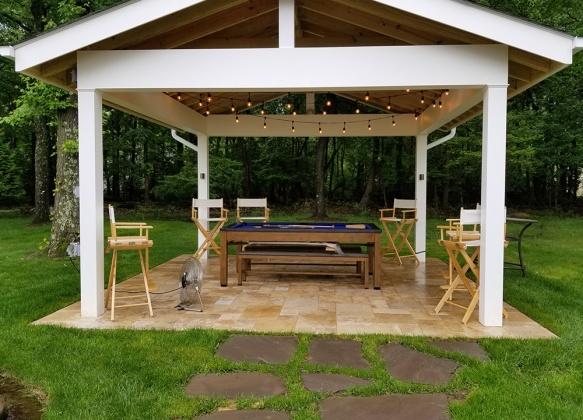 pool table pavilion