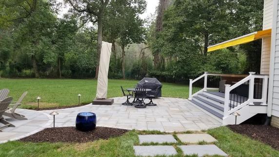 flagstone patio 4